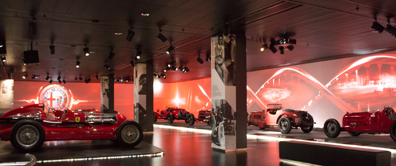featured image thumbnail for post Museo Storico Alfa Romeo